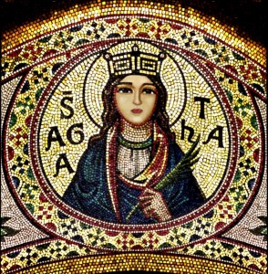 Tess Whitehurst-Saint Agatha-Incarnation of the Divine Feminine