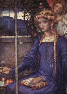 Lammas Idea: Invocation to Saint Dorothea by Tess Whitehurst