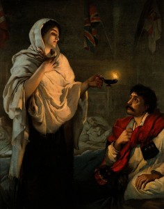Tess Whitehurst-Light a Candle to Florence Nightingale